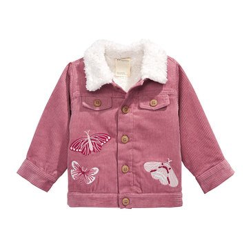 First Impressions Baby Girls' Statement Corduroy Jacket
