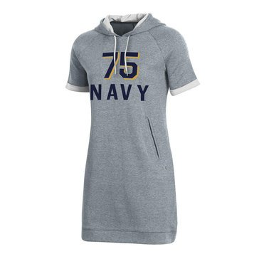 Under Armour Women's USN 75 Double Knit Hooded Dress