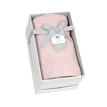 Just Born® Sparkle Sweater Knit Blanket