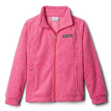 Columbia Toddler Girl's Benton Printed Fleece Jacket