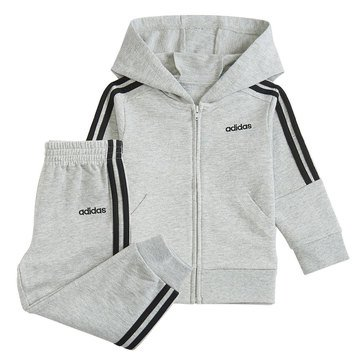 Adidas Baby Boys' Hooded French Terry Set