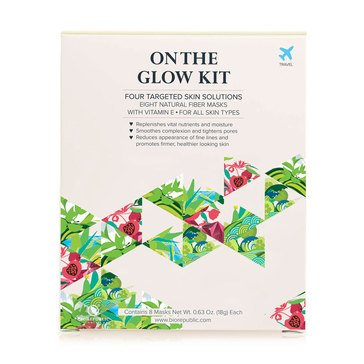 BioRepublic On The Glow Kit - 8 Sheet Mask Set