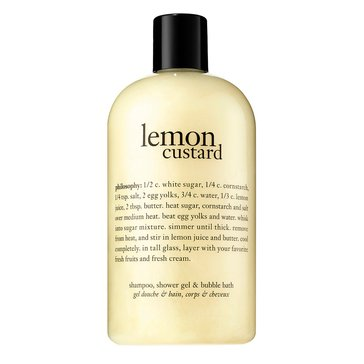 Philosophy Lemon Custard Shampoo, Shower Gel & Bubble Bath