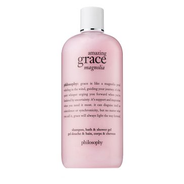 Philosophy Amazing Grace Magnolia Shampoo, Shower Gel & Bubble Bath 16oz
