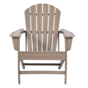 Signature Design by Ashley Adirondack Chair Grayish Brown Sundown Treasure