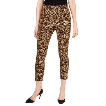 I.N.C International Concepts Women's Animal Skinny Leg Pants