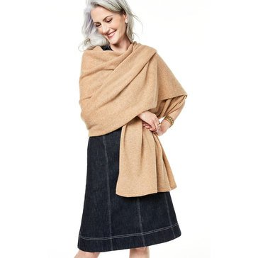 Charter Club Women's Cashmere Oversized Scarf
