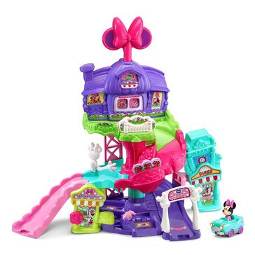 VTech Go! Go! Smart Wheels Minnie Mouse Around Town Playset