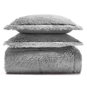 Martha Stewart Collection Shaggy Fur Comforter