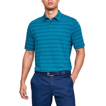 Under Armour Men's Golf Scramble Stripe Polo