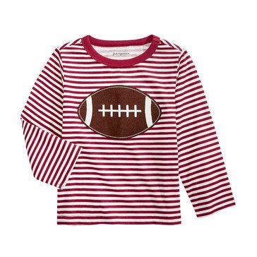 First Impressions Baby Boys' Football Stripe Tee