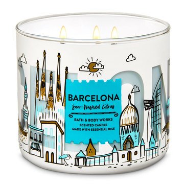 Bath & Body  Works Sunwashed Citrus 3-Wick Candle