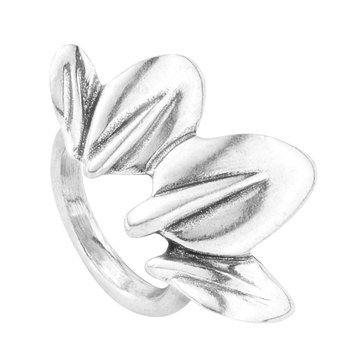 UNOde50 Leaf Me Alone Ring - Size 7.5