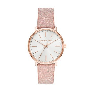Michael Kors Women's Pyper Rosegold Strap Watch, 38mm
