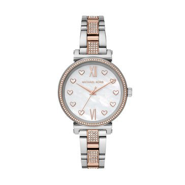 Michael Kors Women's Sofie Two-Tone Bracelet Watch, 36mm