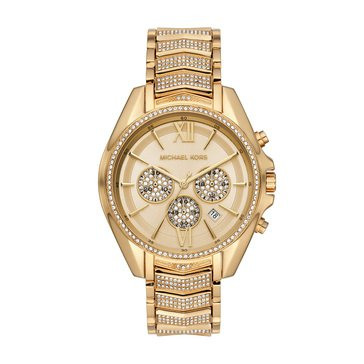 Michael Kors Women's Whitney Gold Bracelet Watch, 44mm