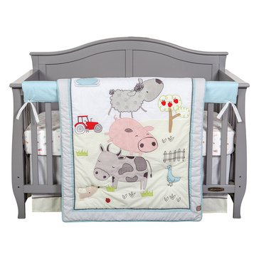 Trend Lab 4-Piece Crib Bedding Set