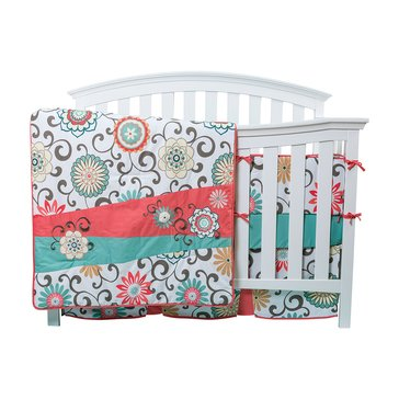 Waverly® 4-Piece Crib Bedding Set
