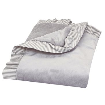 Trend Lab Ruffled Trimmed Receiving Blanket
