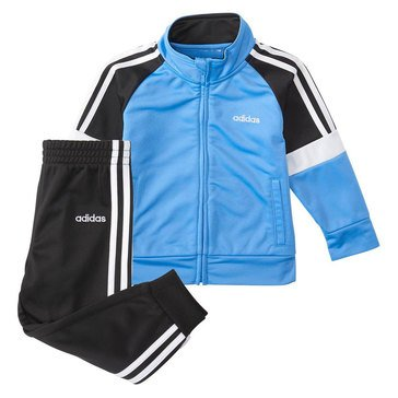 Adidas Baby Boys' Colorblock Tricot Jacket Set