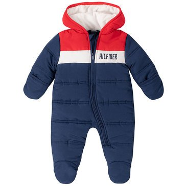 Tommy Hilfiger Baby Boys' Quilted Microfiber Sherpa Lined Pram