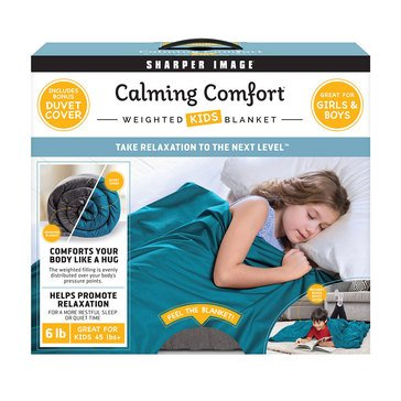 As Seen On TV Calming Comfort Kids 6-Lb Weighted Blanket