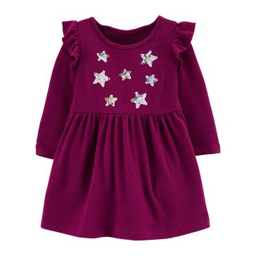 Carter's Baby Girls' Star Sequins Dress
