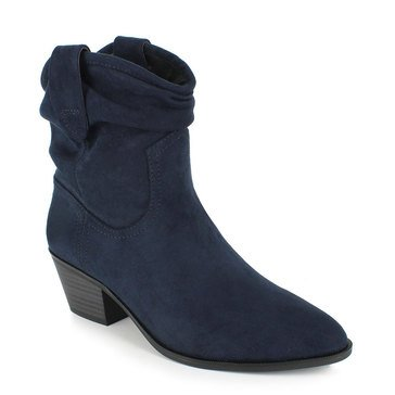 Esprit Women's Polina Western Pull Up Top Suede Boot