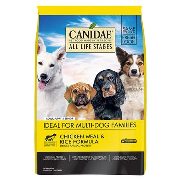 Canidae Life Stages Chicken & Rice Adult Dog Food