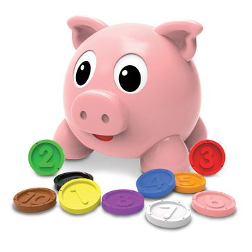 The Learning Journey Learn with Me - Numbers and Colors Pig E Bank