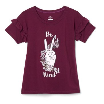 Liberty & Valor Little Girls' Graphic Tee