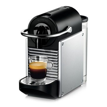 Nespresso Pixie Espresso Machine with Aeroccino by De'Longhi