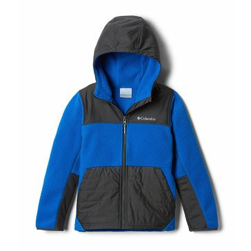 Columbia Big Boy's Rugged Ridge Sherpa Hybrid Jacket