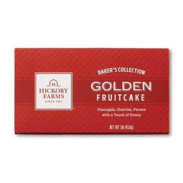 Hickory Farms Golden Fruit Cake