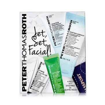 Peter Thomas Roth Jet, Set, Facial Kit! 4-Piece Kit