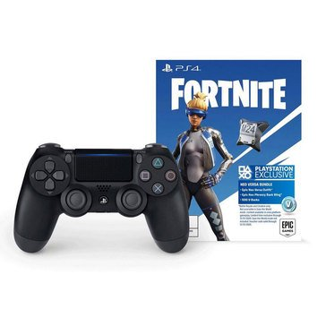 PS4 DS4 Wireless Controller w/ Fortnite Neo Versa Bundle