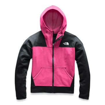 The North Face Big Girl's Glacier Full Zip Hoodie