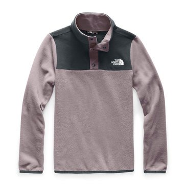The North Face Big Girls' Glacier 1/4 Zip Jacket