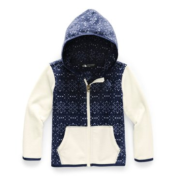 The North Face Toddler Girl's Glacier Full Zip Hoodie