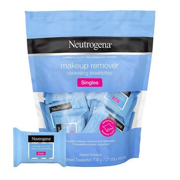 Neutrogena Cleansing Makeup Remover Cleansing Towelettes Singles 20 Ct.