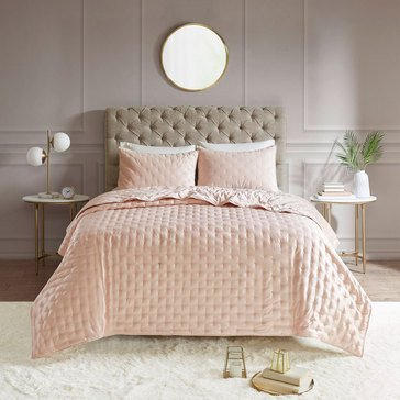 Madison Park Leah Quilted Coverlet