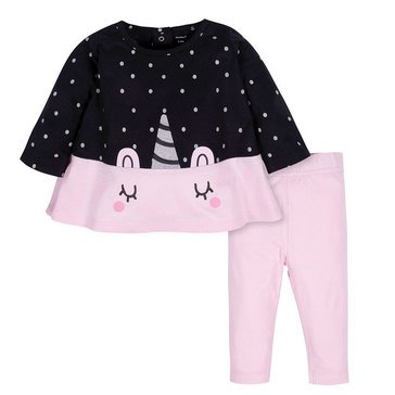 Gerber Baby Girls' 2-Piece Tunic & Legging Set