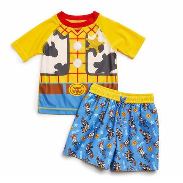 Dreamwave Baby Boys' 2-Piece Rash Guard Set