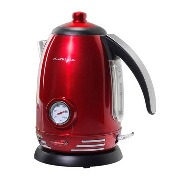 Nostalgia Retro Series 1.7-L Electric Water Kettle