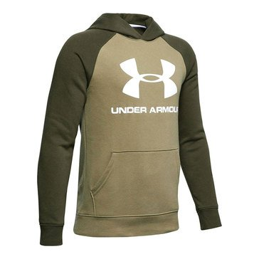 Under Armour Big Boys' Rival Logo Hoodie