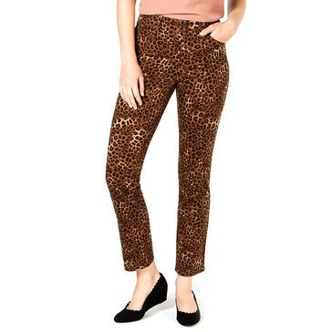 Charter Club Women's Cheetah Printed Jeans