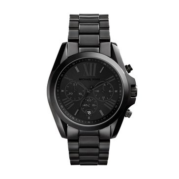 Michael Kors Women's Black Bradshaw Watch, 43mm
