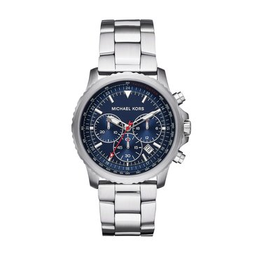 Michael Kors Men's Cortlandt Chronograph Stainless Steel Watch, 42mm