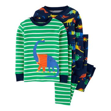 Carter's Baby Boys' 4-Piece Dino Pajama Set