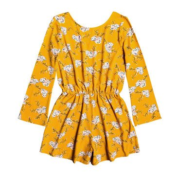 Roxy Big Girl's Moon Sky Romper